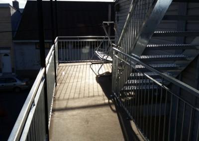 Fabrication de garde corps et rampe sur mesure à Québec | Métal Gilles Allard