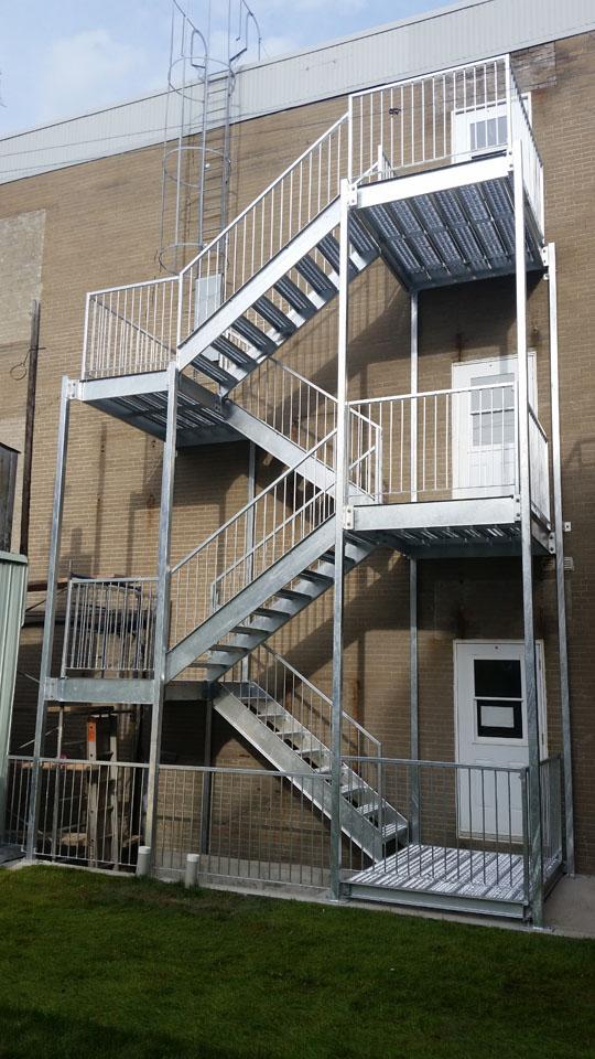 Fabricant Escalier Metallique Exterieur Univerthabitat