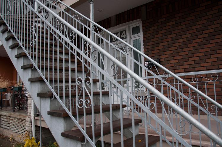 Fabricant escalier métallique exterieur  | Métal Gilles Allard inc.